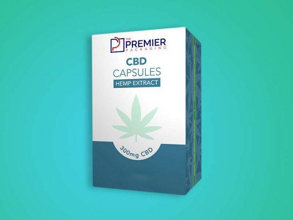 Custom CBD Capsules Boxes