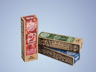 CBD Cannabis Cigarette Boxes